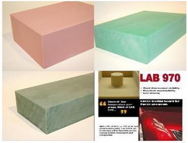 produits pour le modelage - PLANCHE USINABLE LAB 975 50MM