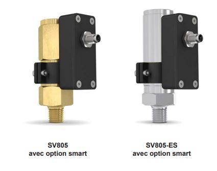 SOUPAPES DE SECURITE SV805  - avec option smart