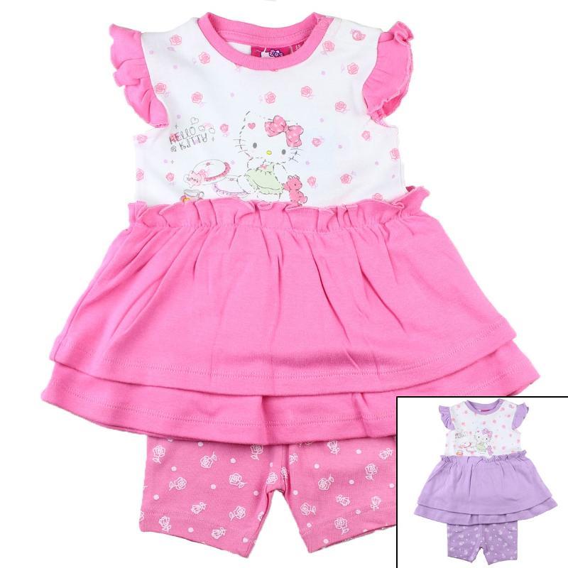 Grossiste d'ensemble de vêtement enfant Hello Kitty - Ensemble
