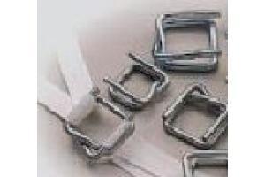 Chapes et boucles métalliques - Cerclage, marquage, agrafage, étiquetage