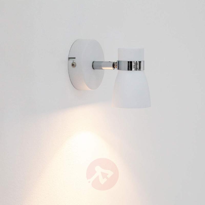 White Arjen wall light with GU10 LED - Ceiling Lights
