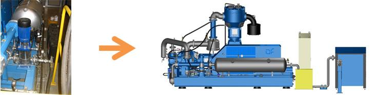 HIGH PRESSURE COMPRESSORS - Separate cooling systems and accessories