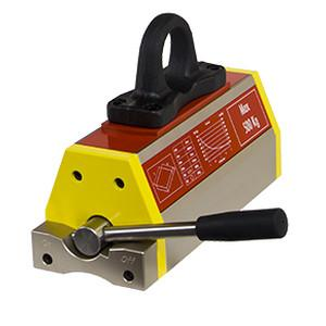 Permanent lifting magnet - DPM series - Reliable hold for flat and round material