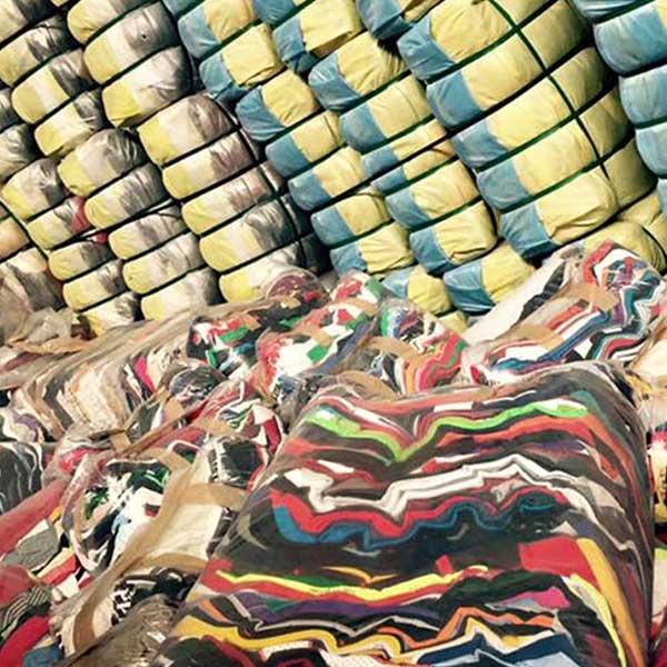 Recycling textile - null