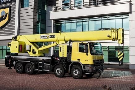 Truck Mounted Telescopic Mobile Cranes -