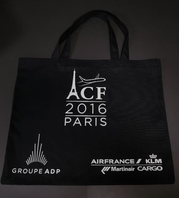Sac Coton Noir - Sac évenement Paris