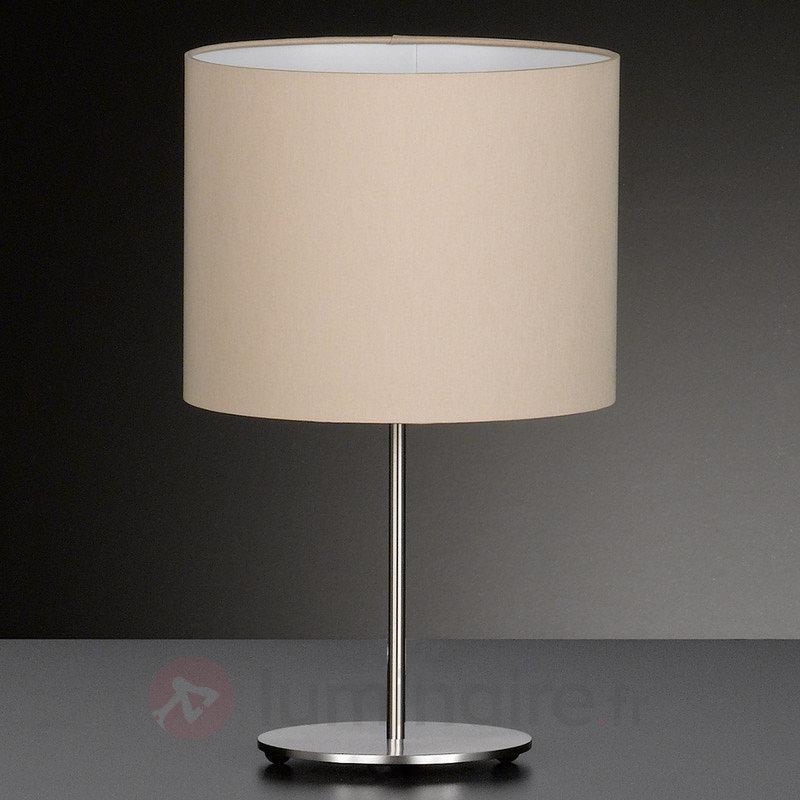 Belle lampe à poser textile Estadio - Lampes à poser en tissu