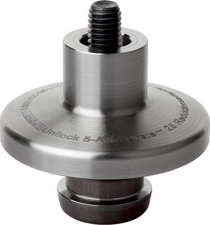 Adaptateur réducteur 5 axes UNI lock à pas de 50 mm - UNI lock pas de 50 mm