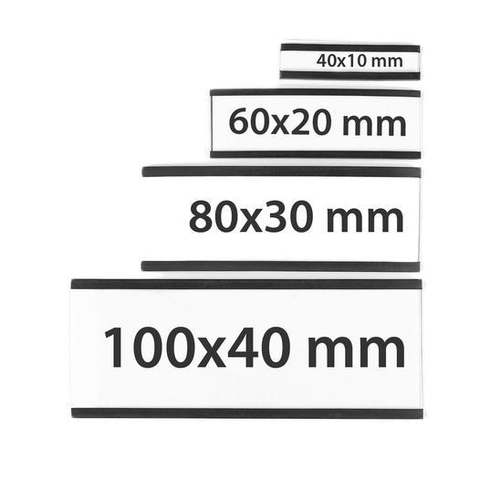 Magnetetiketten / magnetische C-Profile - null
