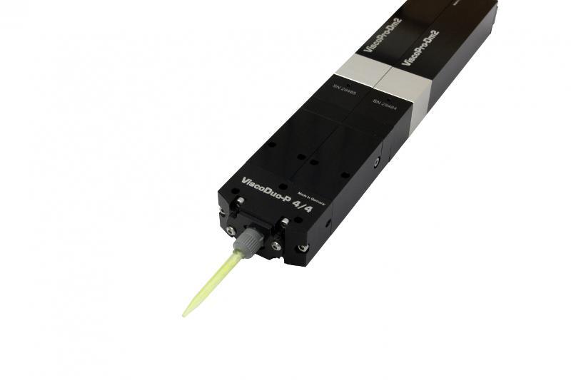 2K-Dispenser ViscoDuo-P 4/4 / - Zwei-Komponenten Anwendung / Mehrfachdosiersystem