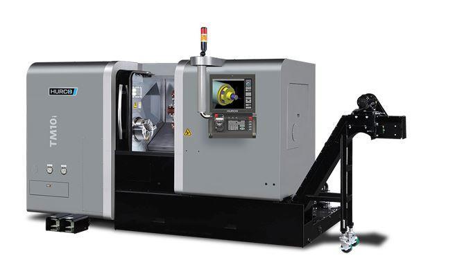 Drehmaschine - TM 10i - Die ideale Maschine für die Dreh-Bearbeitung mittelgroßer Teile