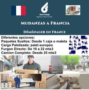 Mudanzas a Francia - Mudanzas Internacionales a Francia