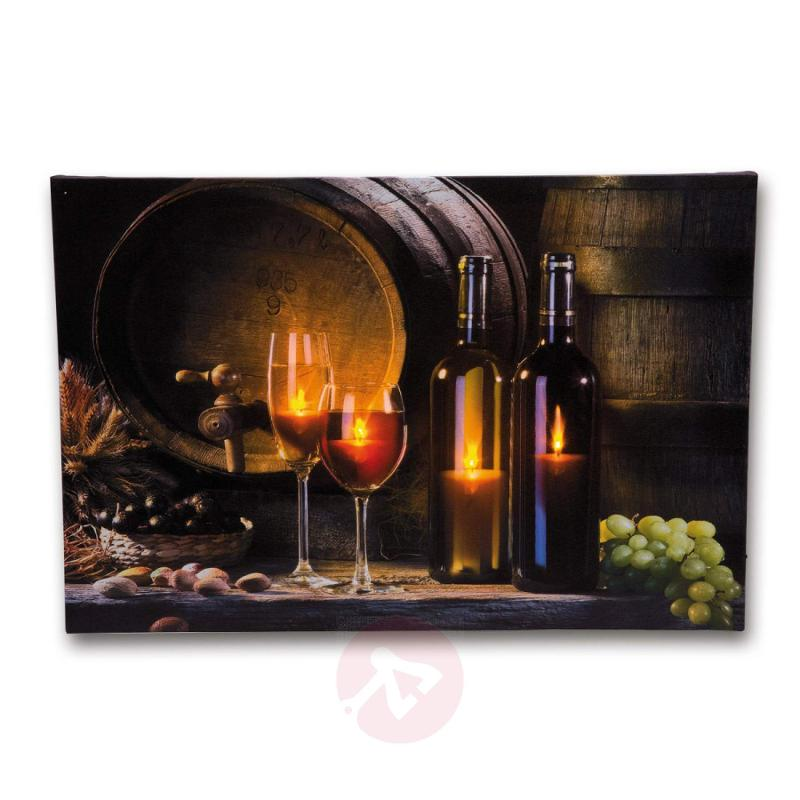 Exceptional Wine Cellar LED picture light - design-hotel-lighting