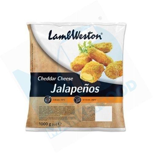 Cheddar Jalapenos 1kg - null