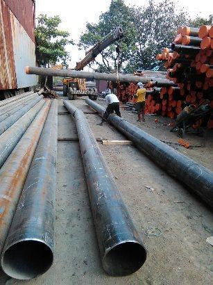 X70 PIPE IN SOUTH SUDAN - Steel Pipe
