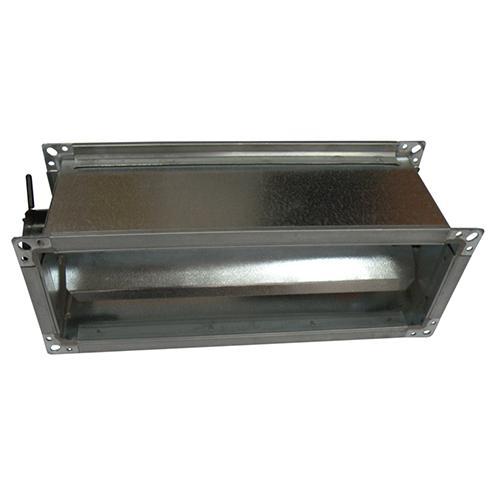 Multi-leaf aluminum damper (tight) PWP - null