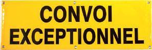 SIGNALISATION POUR CONVOIS EXCEPTIONNELS