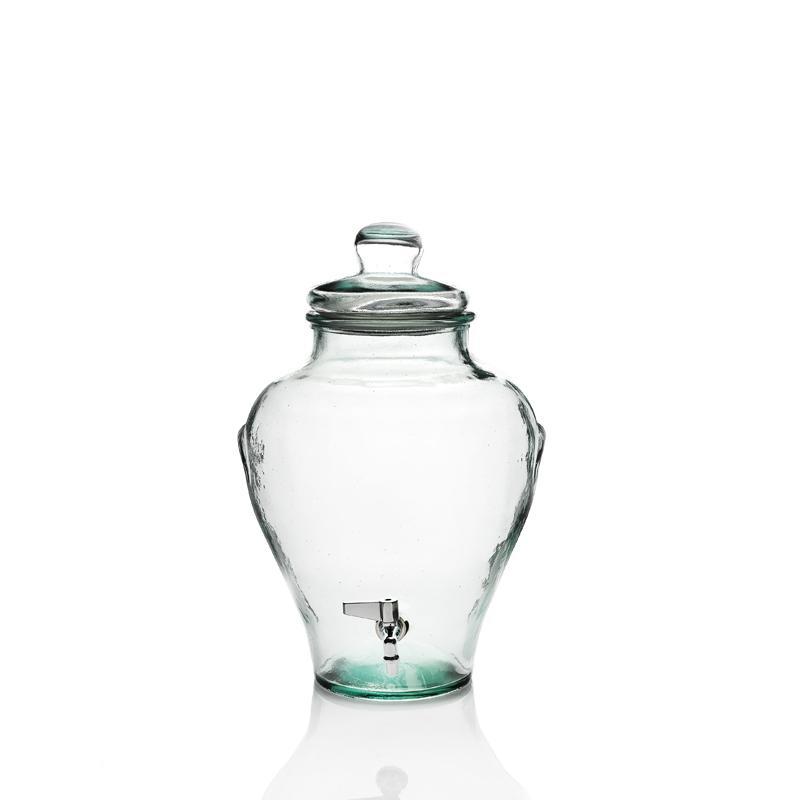 Bonbonne Jarre 12 litres en verre 100% recyclé avec robinet - Bonbonnes et bonbonnières