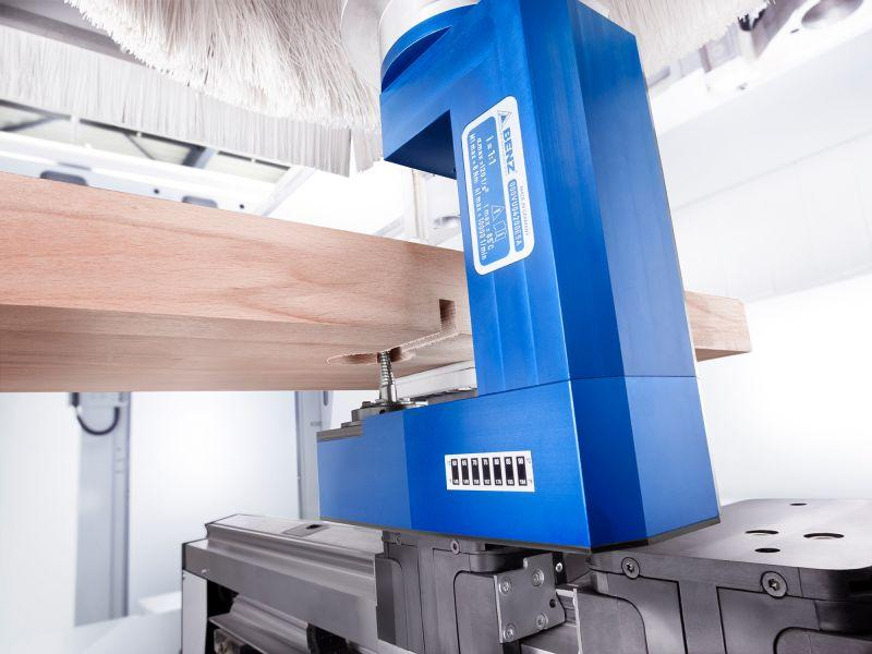 Undersurface unit SUBIO - CNC unit for machining of wood, composites and aluminium