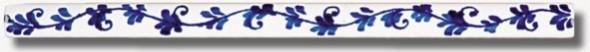 I Listelli - Matita Decorata - Grazia Blu