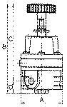 Precision pressure regulator, G 1/4, Control range... - Precision pressure regulators (diaphragm pressure regulators with...