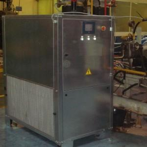 Air/CO2 Nucleation unit for discontinuous production lines - null