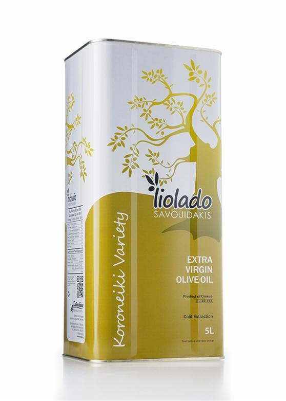 "Olive oil Extra Virgin - EXTRA VIRGIN OLIVE OIL ""LIOLADO SAVOUIDAKIS"""