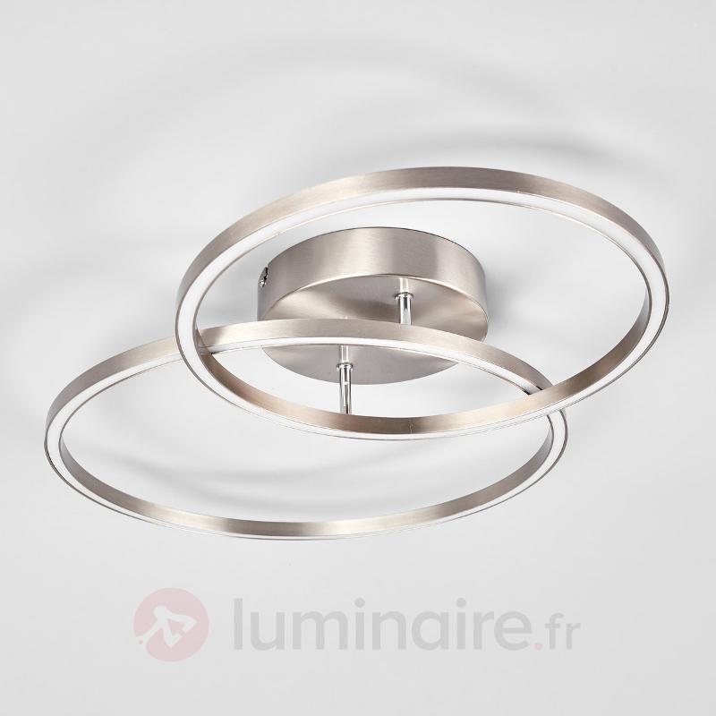 Deux anneaux décalés - le plafonnier LED Elmo - Plafonniers LED