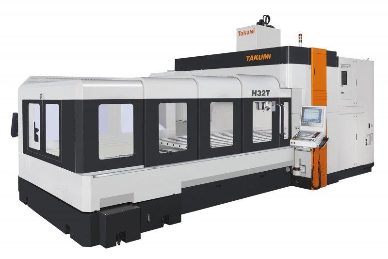 3-Axis-Machining-Center - H32T - 3-Axis-machine-center for construction and forming of tools, H32T, Takumi