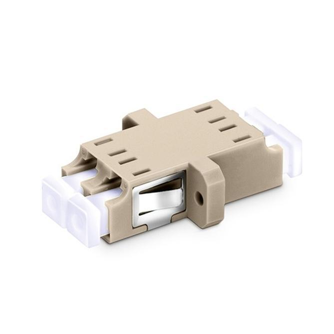 Duplex Om1/om2 Sc Footprint Fiber Optic Adapter With Flange - null