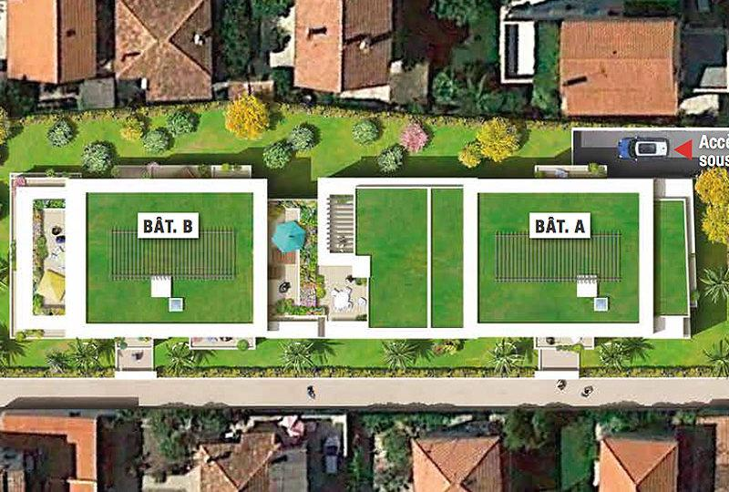 New apartments Cagnes sur Mer centre 150 meters from... - Real Estate