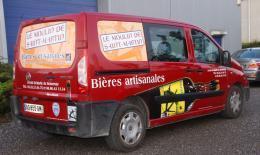 Découpe du vinyle - Lettrage de véhicule, lettrage de vitrines, Ciney Namur
