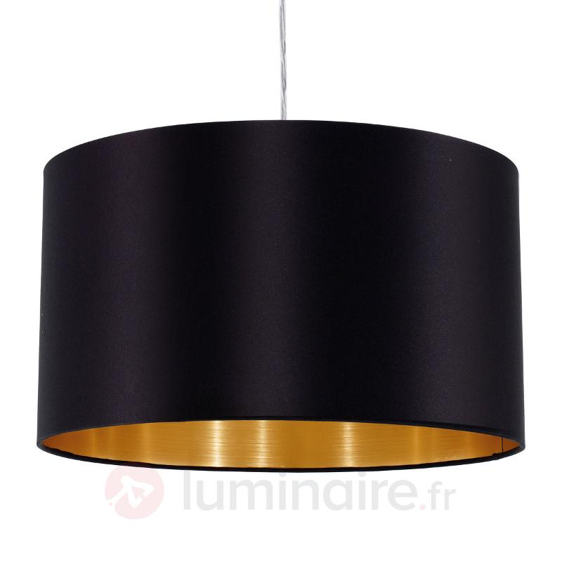 Suspension textile Lecio, 1 flamme - Suspensions en tissu