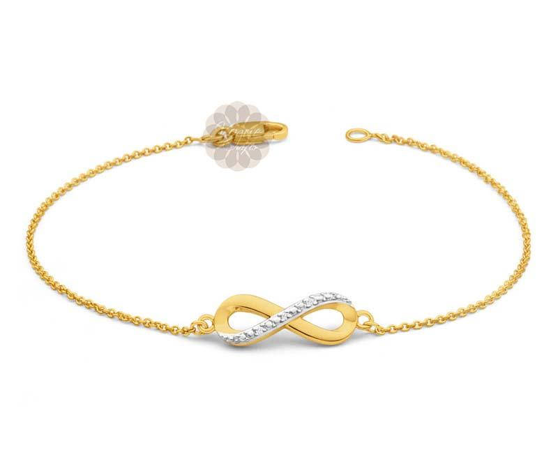 Infinity Gold Anklet -