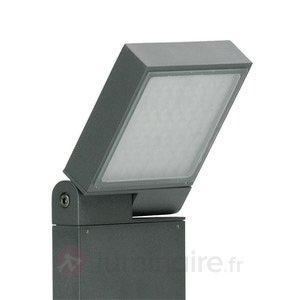Borne lumineuse réglable FlexStand anthracite - Bornes lumineuses LED