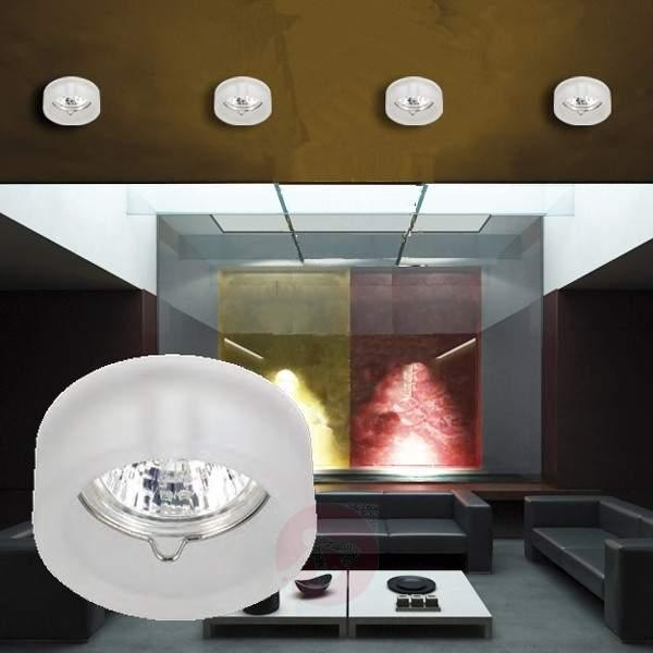 Modern glass downlight MOK - Low-Voltage Spotlights