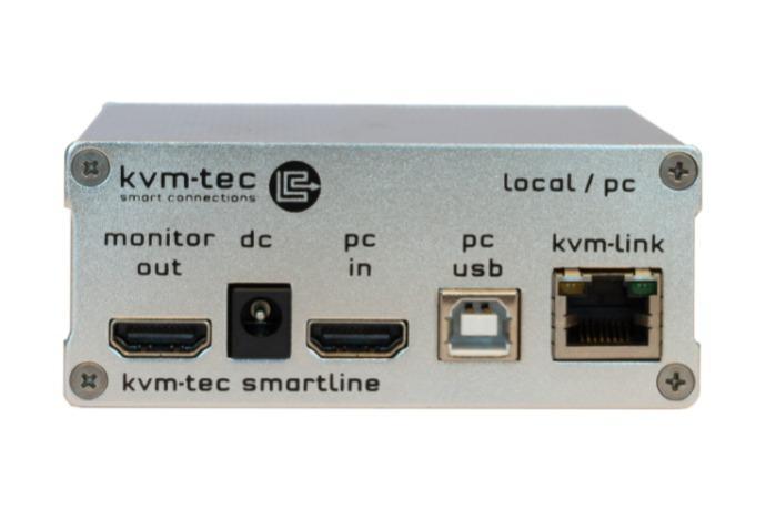 SMARTline single in copper - SMARTline Full HD KVM Extender over IP