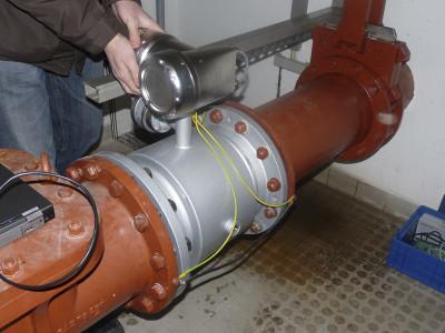 TIDALFLUX 2300 F - Caudalímetro para líquido / electromagnético / para conducto parcialmente lleno