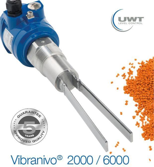 Vibranivo® 2000/6000 - Interrupteur à vibrations - Pour la mesure de niveau - Détecteur de plein, de besoin et de vide