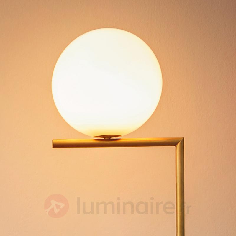 IC F1 - lampadaire de FLOS, laiton brossé - Lampadaires design
