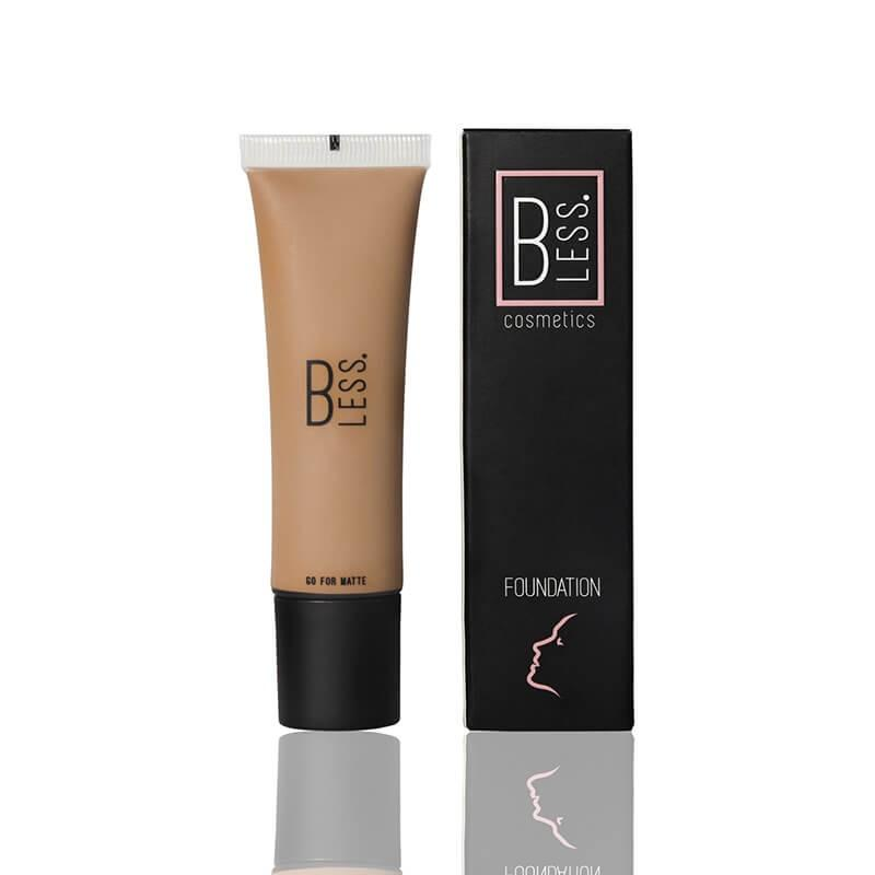 Go For Matte Foundation - Colore: biscuit