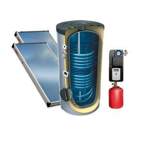 UPLIVE SPICA - Sistemas de Circulação Forçada - Sistemas solares de circulação forçada.
