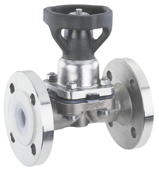 盖米653 - 盖米653是一款手动金属隔膜阀。压块和内部组件均为不锈钢材质,符合卫生级标准。