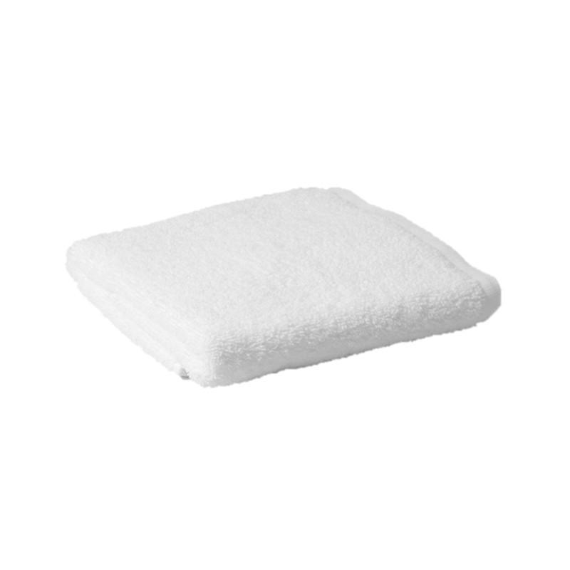 White hair towel -