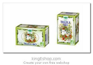 "Tisane Bio de Tilleul ""Romon Nature"" - Référence : TILLEUL"