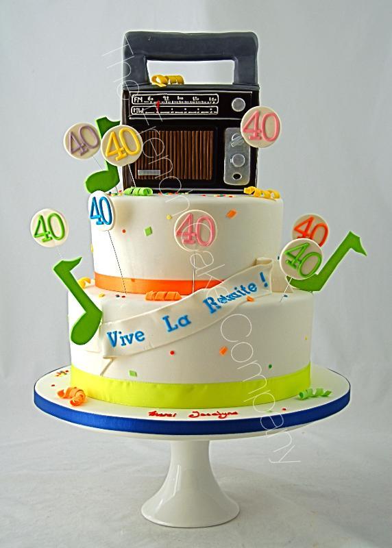 Gâteaux et Pièces Montées sur-mesure - Vive la Retraite
