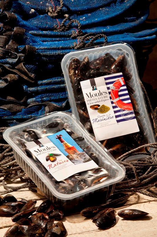 Moules Prêtes à Cuire & Leur Sachet D'épices Marinière 1,4KG - Produits de la mer