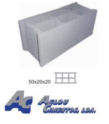 Blocs de b ton creux aglou cimentos lda b ton pr fabriqu portugal - Bloc beton creux ...