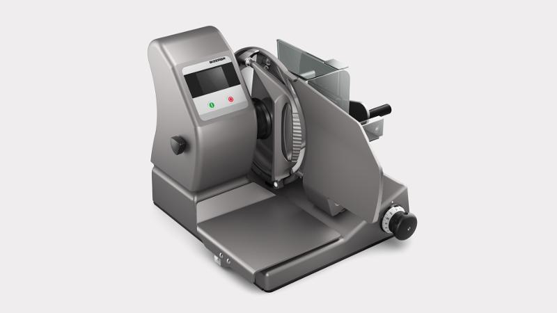 VS12 W - Manuelle Vertikalschneidemaschine mit Kontrollwaage