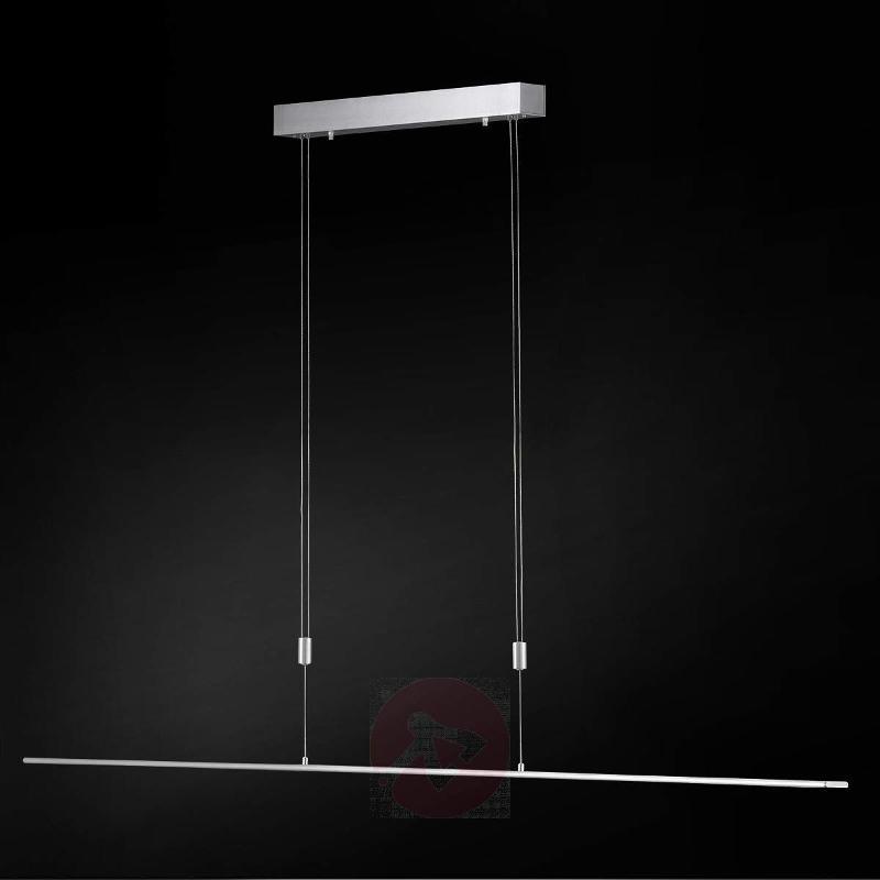 Straight LED pendant lamp Vilde 120 cm - Pendant Lighting